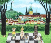 IVANČUK vs. NAVARA - ČEZ CHESS TROPHY 2017